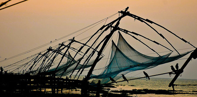 Chinese Fishing Kochi