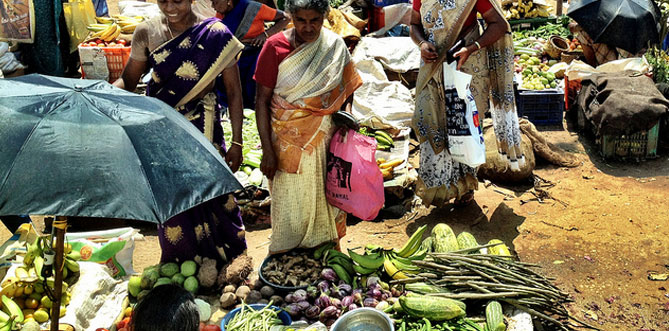 Vegetable Market Kovalam