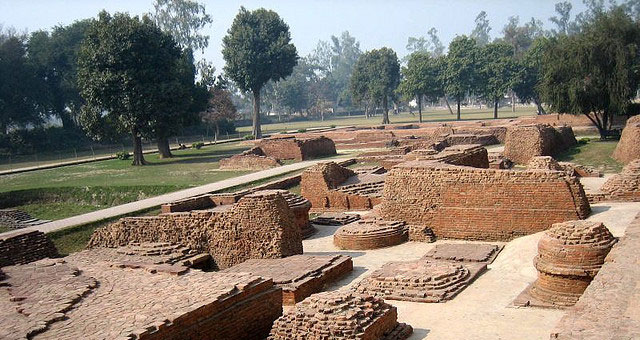 Kushinagar Temple Ruins
