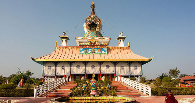 German Buddhist Temple Lumbini
