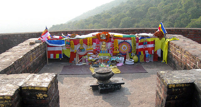 Buddhist Shrine Rajgir